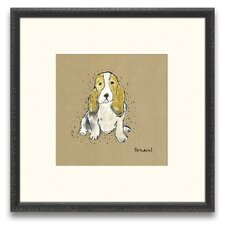 A Cherished Companion Mans Best Friend III Wall Art