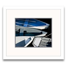 Wooden Rowboats XV Framed Graphic Art