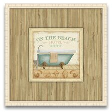 My Favorite Getaway Beach Hotel I Wall Art