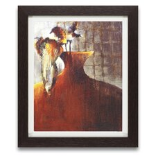 Persimmon Vase I Framed Graphic Art