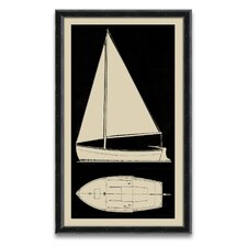 <strong>Epic Art</strong> Sail Boat II Wall Art