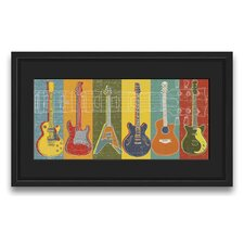 <strong>Epic Art</strong> A Motley Melody Guitar Hero Wall Art
