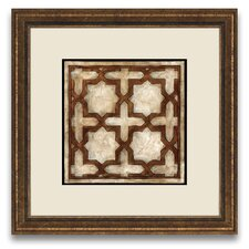 <strong>Epic Art</strong> Patterns of Passion Parisian Tile IV Wall Art