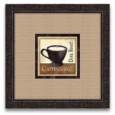 The Connoisseur's Eye Coffee and Cream II Framed Graphic Art
