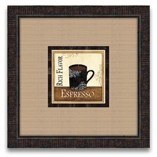 The Connoisseur's Eye Coffee and Cream III Framed Graphic Art