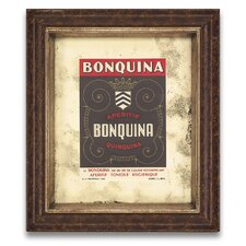 The Connoisseur's Eye Wine and Spirits VIII Framed Graphic Art