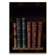 <strong>Epic Art</strong> The Scholar's Shelf Books II Wall Art