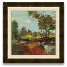 Hidden Pond Hues II Wall Art