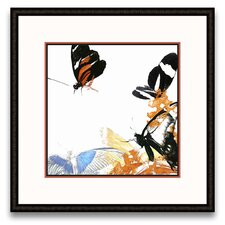 <strong>Epic Art</strong> Flora Moderna Butterfly Inflorescence IV Wall Art