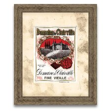 The Connoisseur's Eye Wine Label II Framed Graphic Art