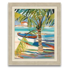 My Favorite Getaway Palm Patterns Wall Art
