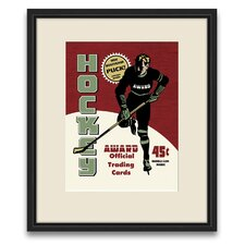 <strong>Epic Art</strong> Pastimes of Yesteryear Hockey Wall Art