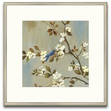 Elysian Fields Apple Bloom III Framed Graphic Art