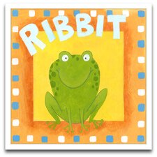 Ribbit Framed Art