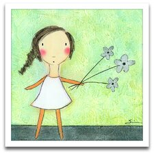 <strong>Epic Art</strong> Playroom Bliss Flowers Wall Art