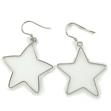 <strong>Splendor Jewelry</strong> Star Silhouette Earrings