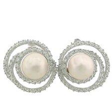 Bridal Gemstone Stud Earrings