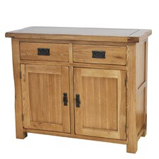 Oakdale 2 Drawer 2 Door Cabinet