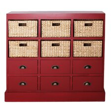 Nantucket 6 Drawer 6 Basket Chest