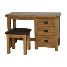 Oakdale Writing Desk with Stool