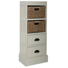Nantucket 2 Drawer 2 Basket Chest