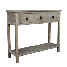 Driftwood Console Table