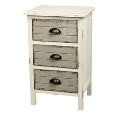 Dover 3 Drawer Accent Cabinet