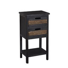 Bali 2 Drawer Accent Cabinet