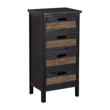 <strong>Gallerie Decor</strong> Bali 4 Drawer Cabinet