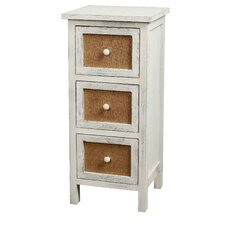 <strong>Gallerie Decor</strong> Ardsley 3 Drawer Accent Cabinet