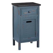 <strong>Gallerie Decor</strong> Shoreham 1 Drawer Accent Cabinet