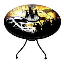 NCAA Football Knockdown Bucket Table