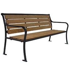 <strong>Select Site Furnishings</strong> Stanton Style Park Bench