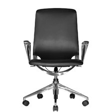 <strong>Wobi Office</strong> Marco Mid-Back Leather Chair with Adjustable Armrest