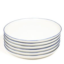 "Abbesses 4.75"" Handmade Plates (Set of 6)"