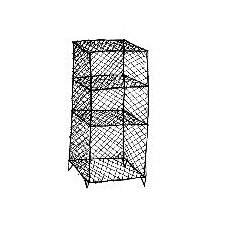Wire 4 Shelf Shelving Unit