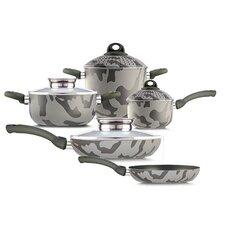 Army Bio-Ceramix Non-Stick 9 Piece Cookware Set