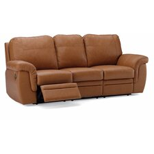 Brunswick Leather Reclining Sofa