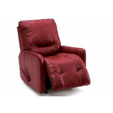 Samara Leather Swivel Recliner