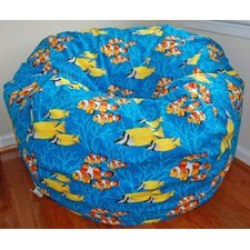 <strong>Ahh! Products</strong> Ocean Reef Cotton Bean Bag Chair