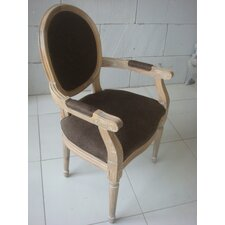 Louis Round Back Carver Armchair
