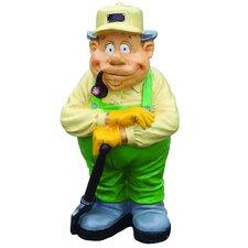 Nostalgia Gardener with Spade Statue