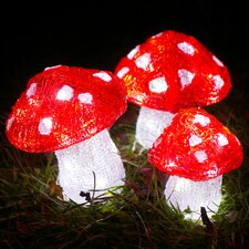 Christmas Toadstools Figures