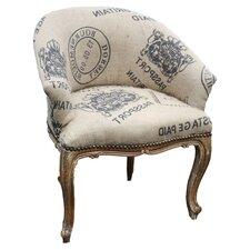 Hessian Tub Chair