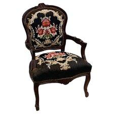Louis Brown Armchair