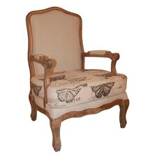 Antique Butterfly Armchair