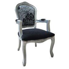 Louis Black Armchair I