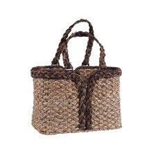 Hand Woven Bankuan Magazine Basket