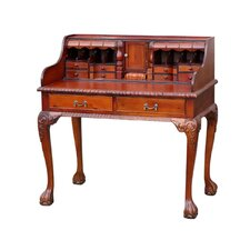 Chippendale 2 Drawer Bureau Desk