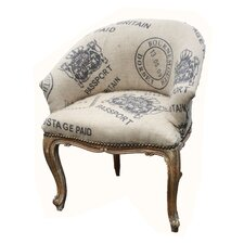 Hessian Tub Chair